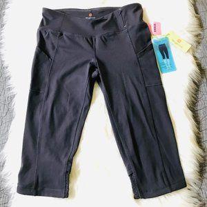 NWT Tangerine Cropped Leg Active Yoga Pants, S